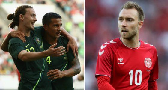 Denmark vs Australia World Cup 21.06.2018